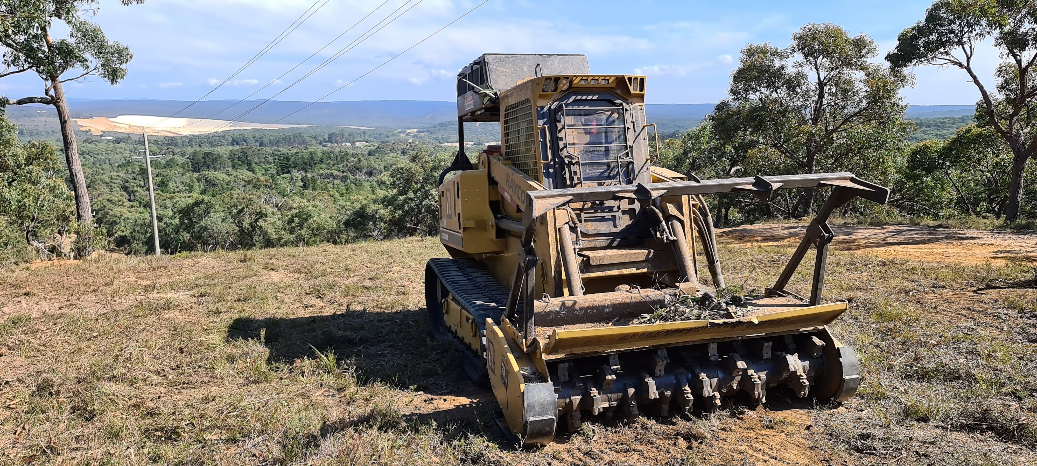 Rayco C100R Forestry Mower