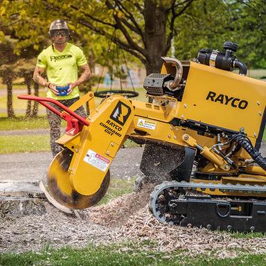 Rayco RG55 Stump Grinder